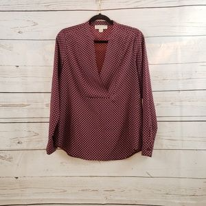 Michael Kors Polka Dot Blouse